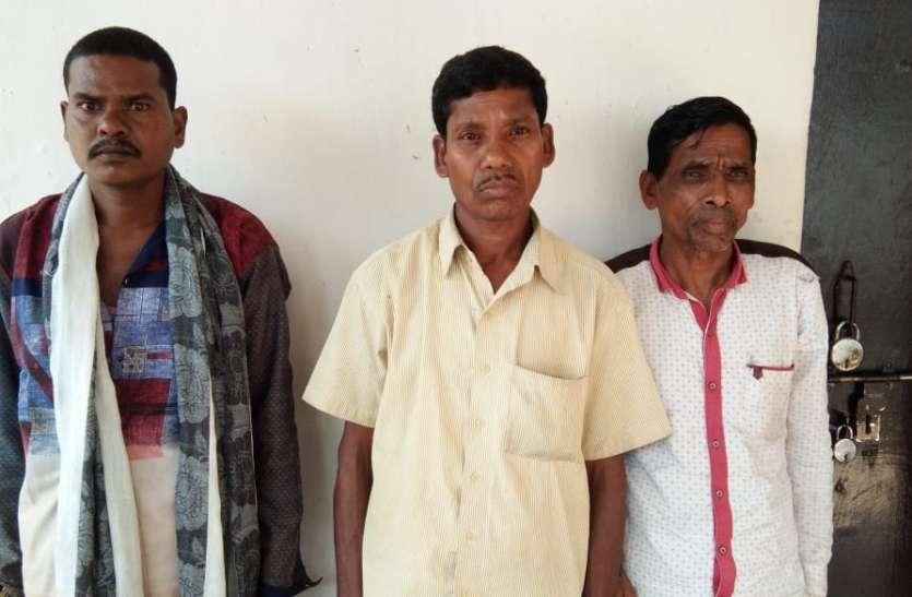 Breaking : गंगालूर थाने से तीन स्थाई वारंटी गिरफ्तार, इन संगीन वारदातों को दे चुके थे अंजाम