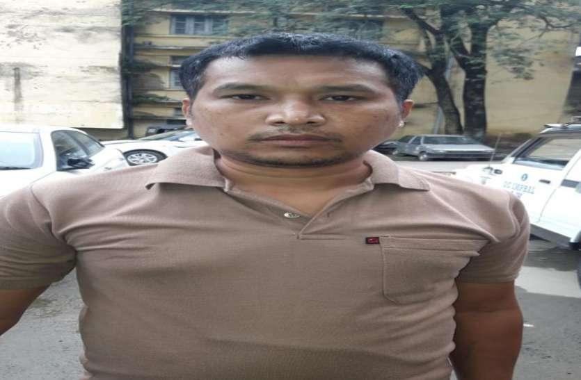 मणिपुर के मुख्यमंत्री को मारने की साजिश का हिस्सा रहा आतंकी गिरफ्तार, दो लाख रुपए का था ईनाम