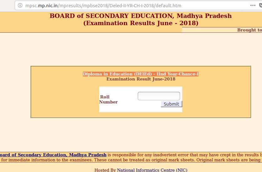 MPBSE ने जारी किए D El Ed June exam results, यहां करें चेक