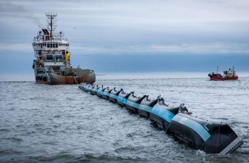विश्व की सबसे बड़ी समुद्री सफाई योजना का शुभारंभ, 24 साल के लड़के ने पेश की मिसाल