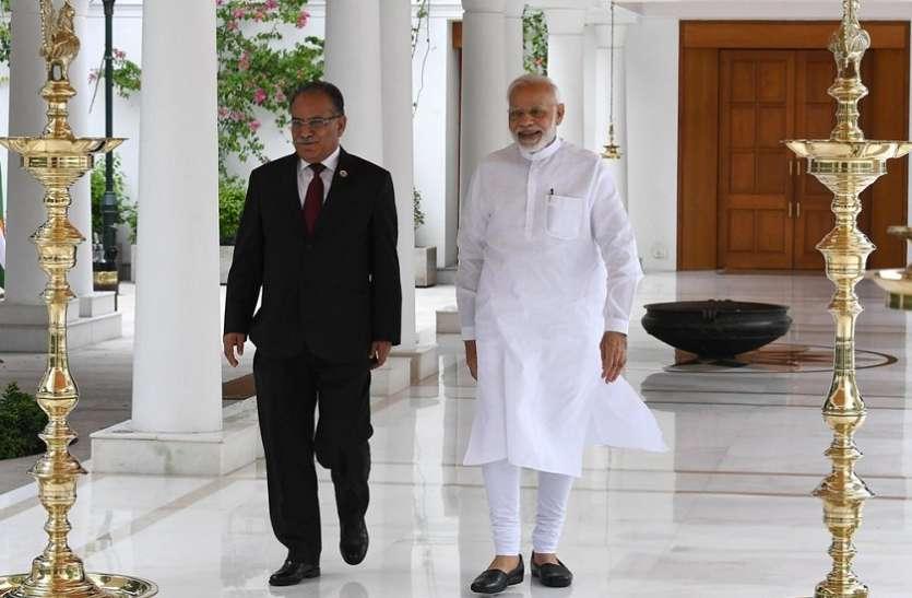 पीएम मोदी से मिले नेपाल के पूर्व पीएम प्रचंड, भारत-नेपाल के संबंधों पर हुई चर्चा