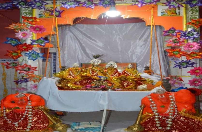 अयोध्या के मंदिरों में मनाया गया भगवान श्री कृष्ण का छठ उत्सव
