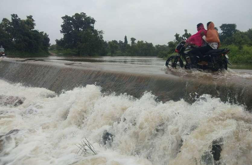 औसत बारिश से कुछ ही दूर, प्रतापगढ़ तहसील में एक दिन में 2 इंच बारिश हुई