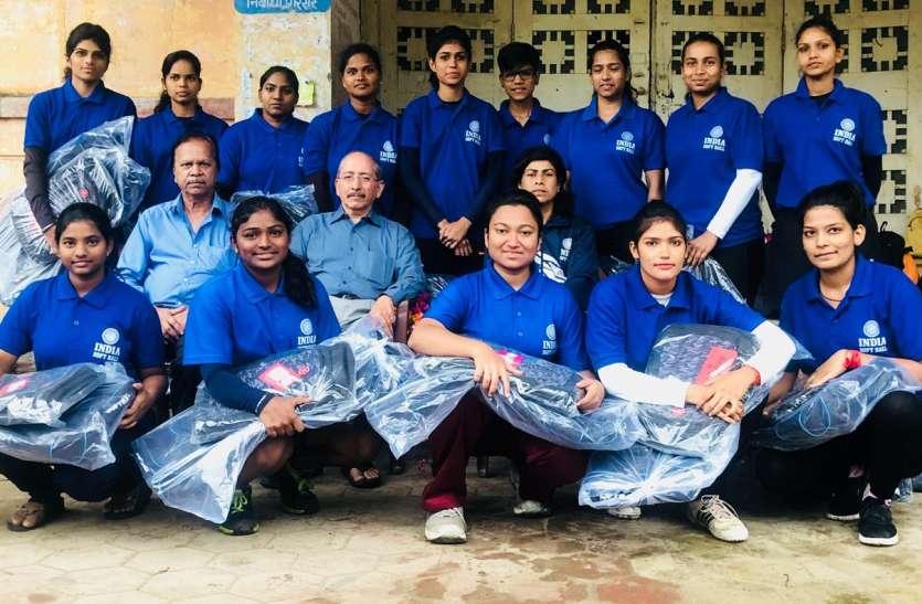 भारतीय महिला सॉफ्टबॉल टीम का विशेष शिविर