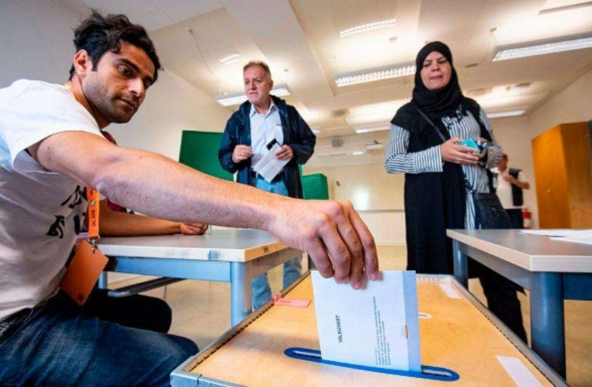 sweden polling continues for general election on sunday