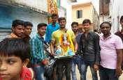धूमधाम से हुआ कृष्ण प्रतिमा का विसर्जन