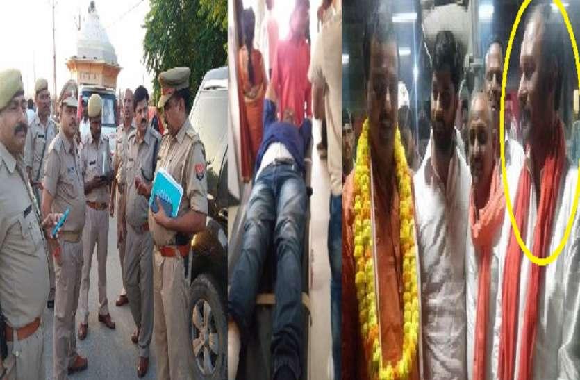 इलाहाबाद में दिनदहाड़े बीच सड़क पर भाजपा नेता को मारी गोली, मचा हड़कंप