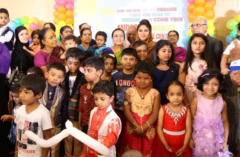 बच्चों के साथ मीट व ग्रीट कार्यक्रम