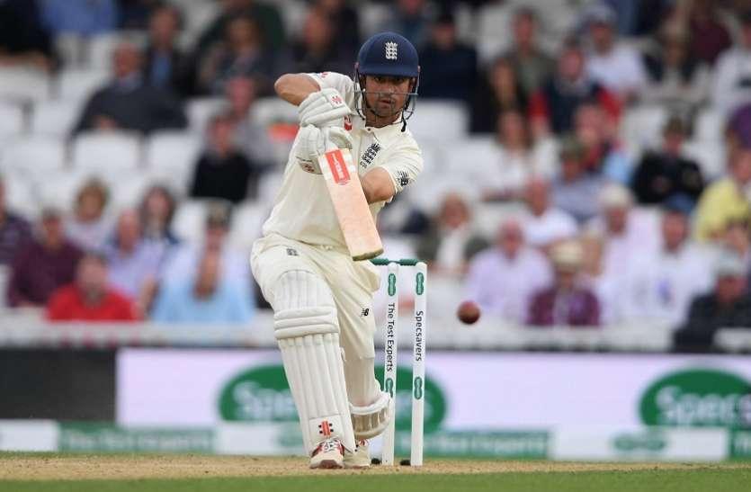 Eng vs Ind: करियर की अंतिम पारी में कुक का जलवा जारी, इंग्लैंड बड़ी बढ़त की ओर