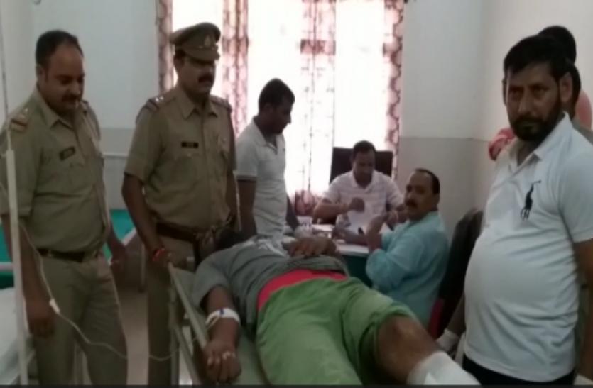 मुजफ्फरनगर में पुलिस और बदमाशों की फिर हुई मुठभेड़, 25 हजार का इनामी बदमाश हुआ घायल