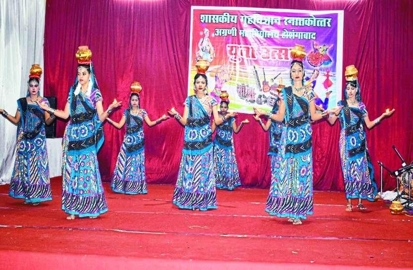 युवा उत्सव : मंच पर बिखरेे महाराष्ट्र और राजस्थानी कला के रंग