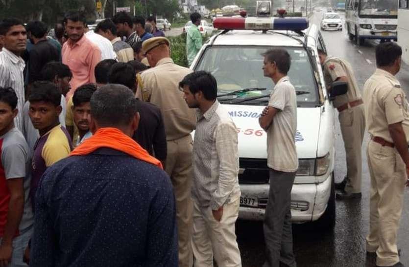 जयपुर-सीकर राजमार्ग पर हादसों में दो की मौत, एक घायल