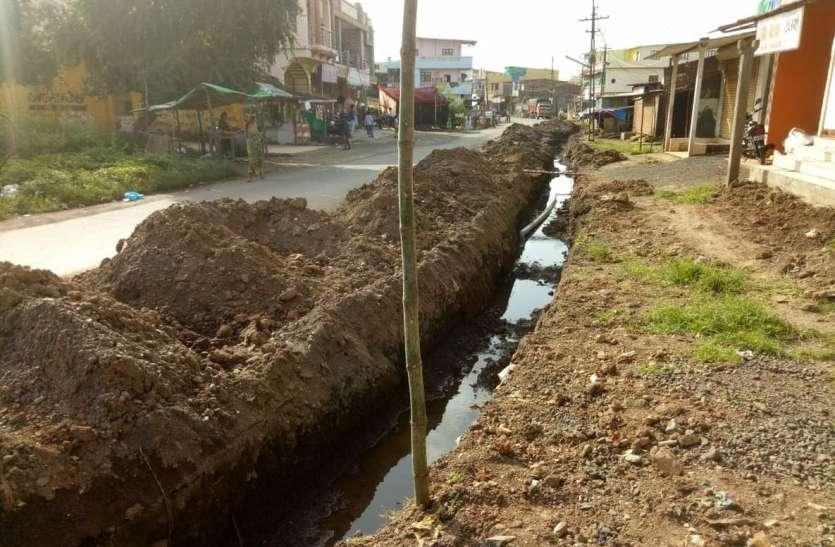 मोबाइल कंपनी की करतूत ने पानी को तरसाया