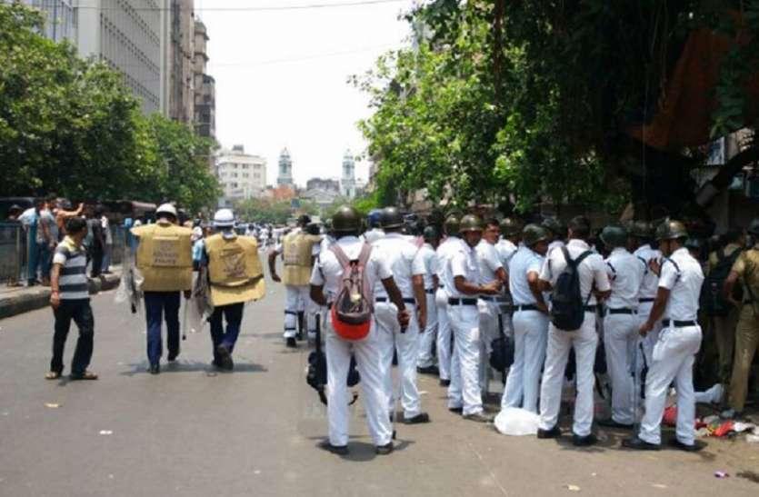 राष्ट्रव्यापी बंद : महानगर में सुरक्षा के व्यापक इंतजाम