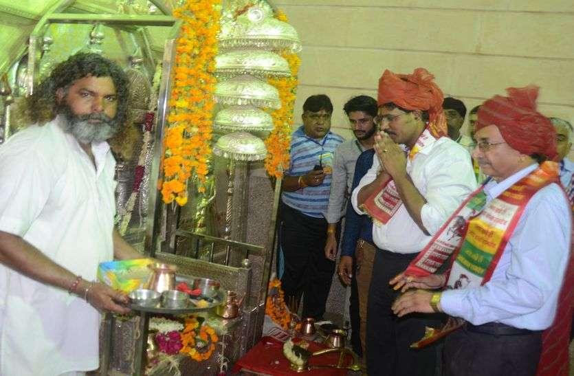 Inauguration of Lok Dev Dev Dev Baba Ramdev Fair