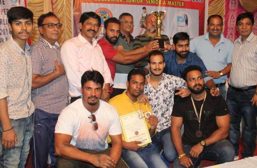 उदयपुर ने मनवाया लोहा...राजस्थान राज्य क्लासिक पावर लिफ्टिंग प्रतियोगिता