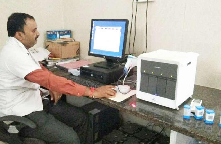 सीबी नेट से दो घंटे में पता चलेगा टीबी बीमारी का स्तर