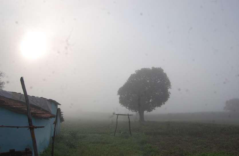 वर्षा के दिखे विदाई के आसार, सोमवार की सुबह छाया कोहरा