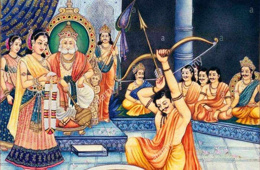 पांडव और द्रौपदी