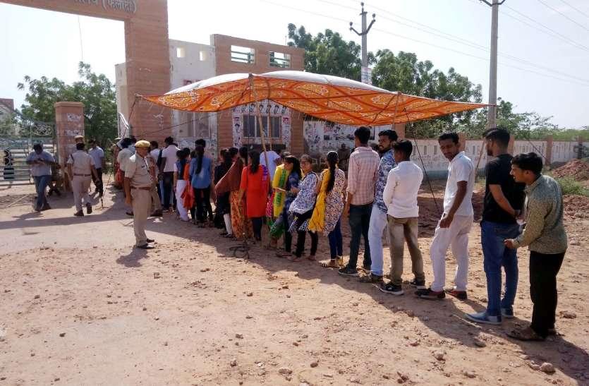 जोधाणा के युवाओं ने मतदान के प्रति दिखाई जागरूकता, प्रत्याशियों के भाग्य का फैसला आज