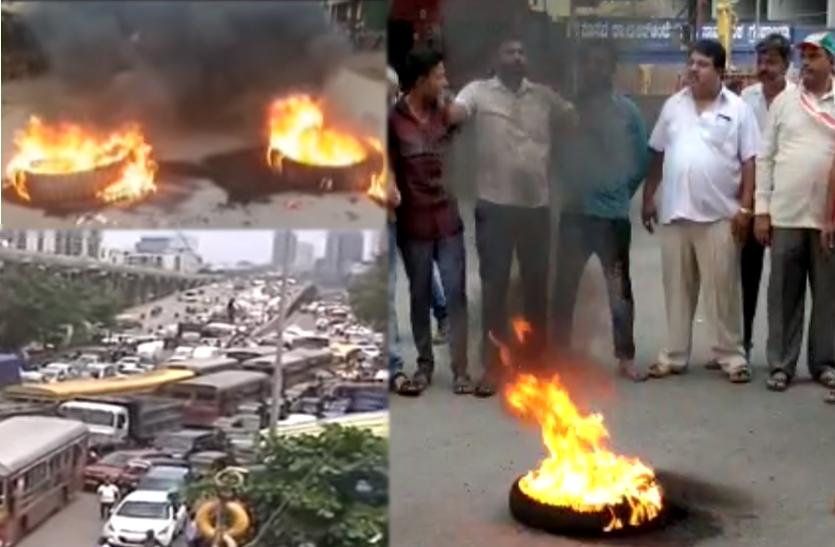 महाराष्ट्र:भारत बंद के दौरान भी पेट्रोल-डीजल के दामों में देखी गई बढोतरी,प्रदर्शन की आग में किया घी का काम