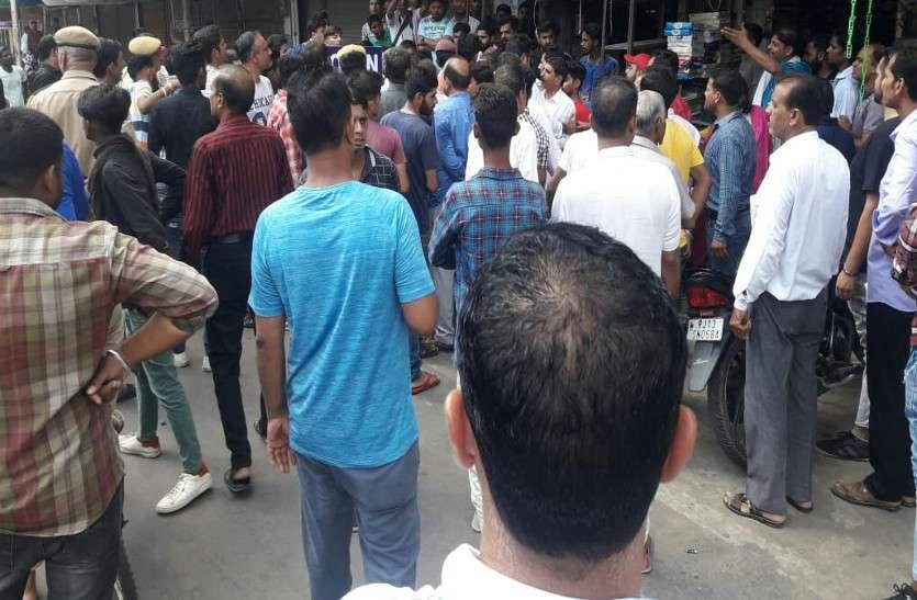 पेट्रोलियम मूल्यवृद्धि के विरोध में कांग्रेस ने करवाया बाजार बंद