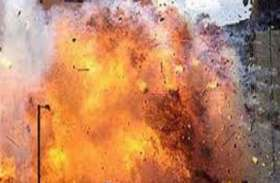 बंगाल : तृणमूल कांग्रेस कार्यालय में बड़ा विस्फोट, भाजपा पर आरोप