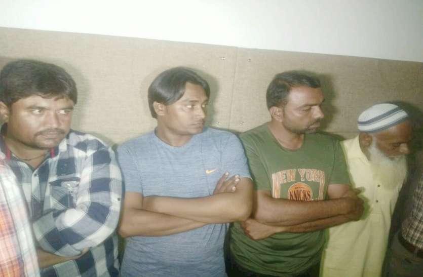 दो करोड़ की चरस के साथ महिला सहित छह गिरफ्तार