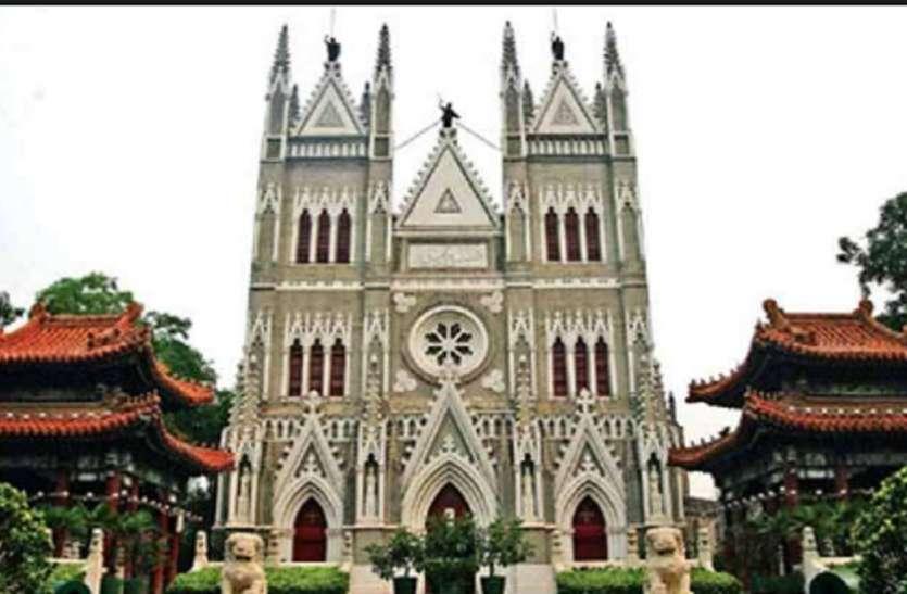 चीन में ईसाइयों के खिलाफ बड़ी कार्रवाई, बीजिंग में प्रमुख चर्च पर जड़ा ताला, बाइबिल में लगाई गई आग