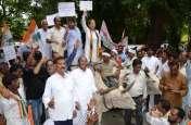 भारत बंद में कांग्रेस ने दिखाई अपनी ताकत, सपा-बसपा समेत कई दलों का मिला साथ