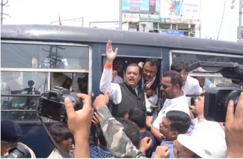 झारखंड में भारत बंद के दौरान 8784 गिरफ्तार