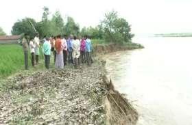रामगंगा ने बरपाया कहर, सैकड़ों बीघा जमीन डूबी