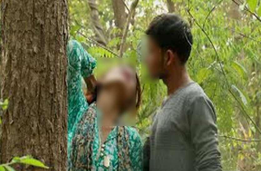 9वीं की छात्रा की साइकिल पंक्चर कर खींचते हुए जंगल में ले गया युवक, फिर पेड़ से बांध दिया और...