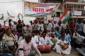 औरैया में ऐसा रहा सपा-कांग्रेस के भारत बंद का असर, देखें वीडियो