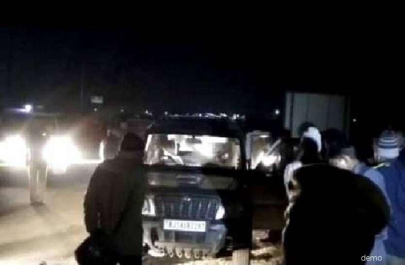 आधी रात बोलेरो में हो रहा ऐसा काम, पुलिस ने चेकिंग के लिए खोला डिक्की तो...