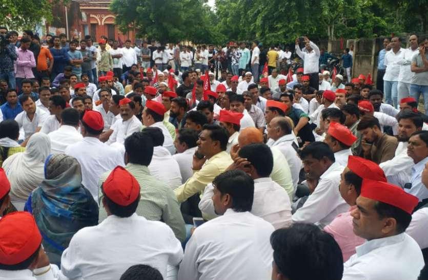 भाजपा के गढ़ में सपा राष्ट्रीय महासचिव का भाजपा सरकार पर बड़ा हमला