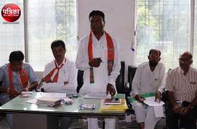 #राजस्थानकारण : शक्ति केंद्र संयोंजकों से साझा की बूथ रचना, उदयपुर में भाजपा राष्ट्रीय अध्यक्ष अमित शाह की बैठक में आने के निर्देश