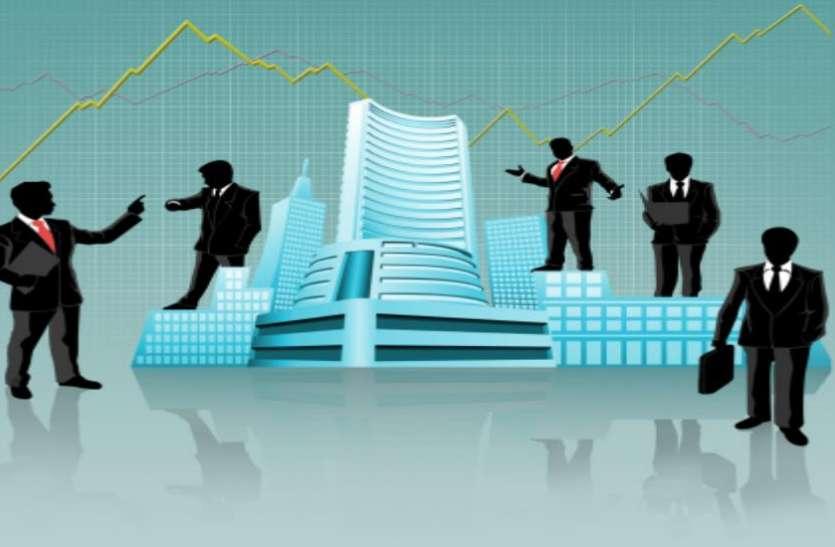 रुपये की कमजोरी ने शेयर बाजार को दिया झटका, सेंसेक्स 450 अंक लुढ़ककर बंद तो निफ्टी भी 11450 के नीचे फिसला