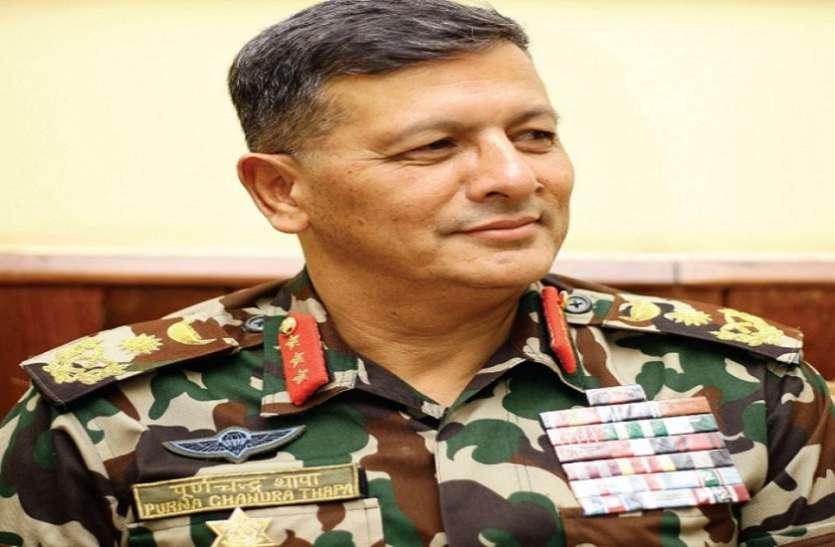 नेपाल के नवनियुक्त सेना प्रमुख जनरल पूर्ण चंद्र थापा ने शपथ ली, कभी भारत में लिया था सैन्य प्रशिक्षण