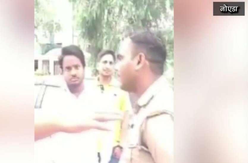 यूपी पुलिस कांस्टेबल का वायरल हुआ एेसा वीडियो, देखते ही एसएसपी ने बिठार्इ जांच