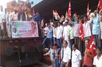 ओडिशा बंद सफल, जनजीवन ठप, नहीं चली रेलें-बसें, सड़कों पर सन्नाटा