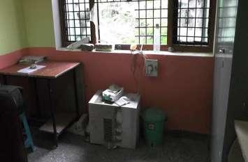 एआरटीओ ऑफिस में अज्ञात चोरों ने चोरी की वारदात को दिया अंजाम, पुलिस तहकीकात में जुटी