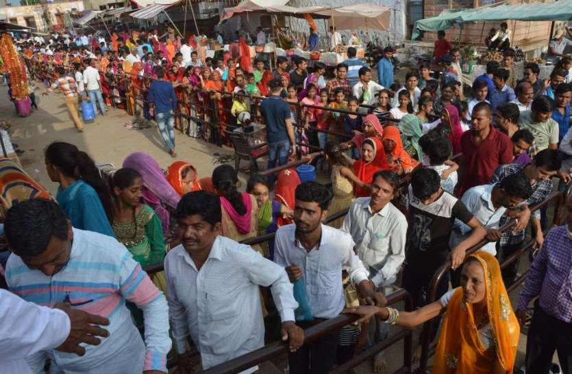 बाबा रामदेव के अवतरण दिवस पर : बिठूजाधाम में उमड़ा श्रद्धालुओं का सैलाब