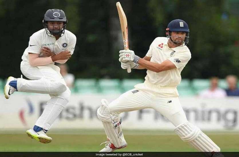 शतक लगानेवालेएलिस्टर कुक ने इस भारतीय खिलाड़ी को कहा शुक्रिया, सेंचुरी पूरी करने में की थी मदद