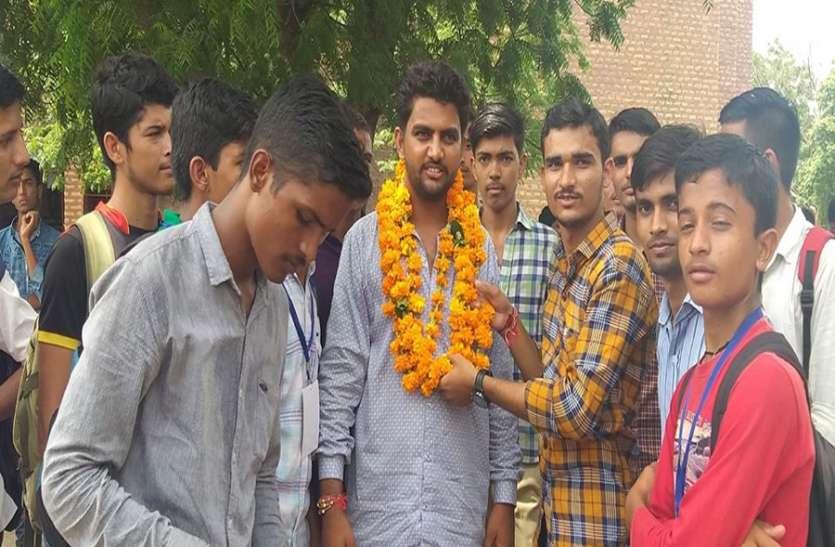 जेएनवीयू छात्रसंघ चुनाव : वरिष्ठ उपाध्यक्ष पद पर दिनेश पंचारिया ने फहराया जीत का परचम
