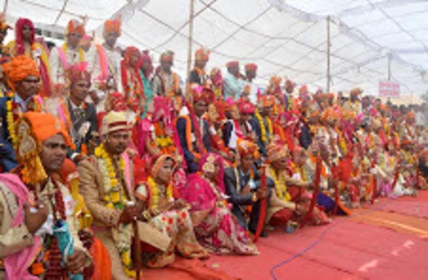 Mass wedding ceremony in jodhpur