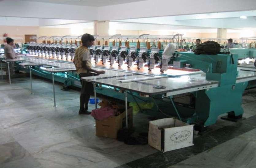 एम्ब्रॉयडरी कारखानेदार एसोसिएशन ने लिखित में मांगीं श्रमिकों की मांगें