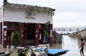 संगम नगरी में खतरे के निशान के पास पंहुचा,गंगा यमुना का जलस्तर,गहराया बाढ़ का संकट