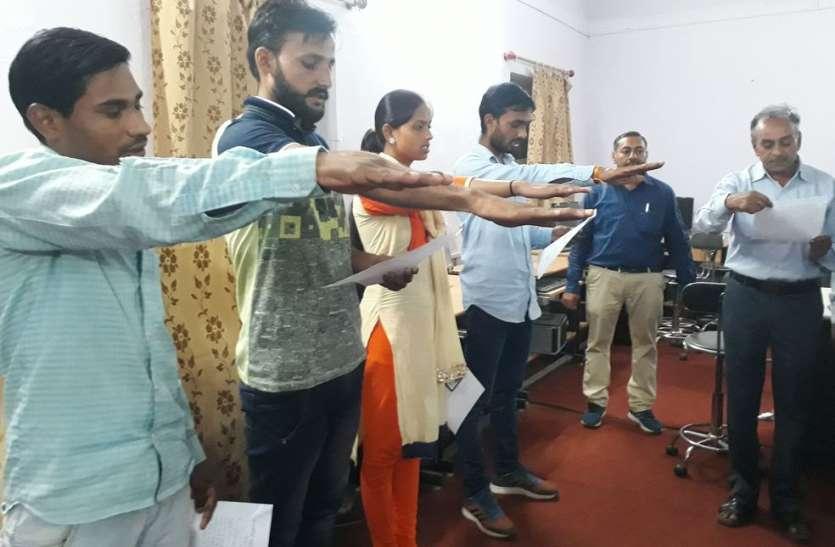 एनएसयूआई से बागी होकर चुनाव मैदान में उतरे रविन्द्र मीणा  बने छात्रसंघ अध्यक्ष
