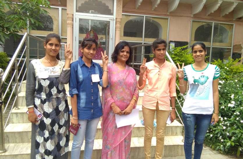 शाहपुरा: छात्रसंघ चुनाव के नतीजे घोषित, विजेताओं व समर्थकों में खुशी की लहर